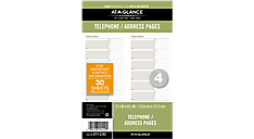 Telephone/Address Planner Pages (011-230) (Item # 011-230)