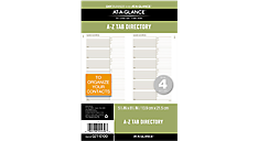 Recycled Telephone-Address A-Z Tabs (021-0100) (Item # 021-0100)