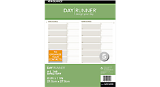 Telephone/Address A-Z Planner Tabs (028-0200) (Item # 028-0200)