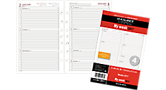 2017 Weekly Planner Refill - Size 4 (061-285Y_17) (Item # 061-285Y_17)