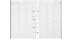 2016 Vertical Weekly Planner Refill - Size 4 (061-485Y_16) (Item # 061-485Y_16)