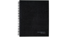 Cambridge Limited Hardbound Business Notebook with Pocket (06100) (Item # 06100)