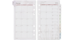 2016 Nature Monthly Planner Refill - Size 3 (063-685_16) (Item # 063-685_16)