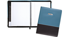 Cambridge Limited Blue Fashion Refillable Notebook (06602) (Item # 06602)