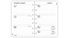 2016 Signature Weekly Planner Refill - Size 3 (073-285M_16) (Item # 073-285M_16)