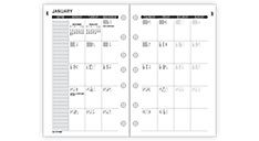 2016 Signature Monthly Planner Refill - Size 3 (073-685M_16) (Item # 073-685M_16)
