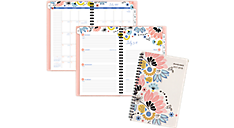 Claire Academic Weekly-Monthly Planner, Medium (1014-200A) (Item # 1014-200A)