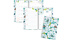 Mia Academic Customizable Weekly-Monthly Planner, Medium (1018-201A) (Item # 1018-201A)