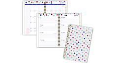 Happy Academic Weekly-Monthly Planner, Medium (1030-200A) (Item # 1030-200A)