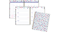 Happy Academic Customizable Weekly-Monthly Planner, Large (1030-901A) (Item # 1030-901A)