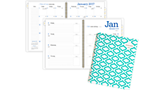 2017 Geos Weekly-Monthly Planner (135T-905_17) (Item # 135T-905_17)