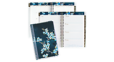 2015 - 2016 Branches and Blooms Academic Weekly/Monthly Planner - Medium (147-201A_16) (Item # 147-201A_16)