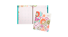 2015 - 2016 Garden Party Academic Monthly Planner - Large (150-900A_16) (Item # 150-900A_16)