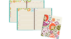 2016 - 2017 Garden Party Academic Weekly/Monthly Planner - Large (150-905A_17) (Item # 150-905A_17)