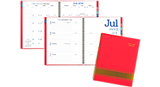 2016 - 2017 Color Pop Academic Weekly/Monthly Planner (173-905A_17) (Item # 173-905A_17)