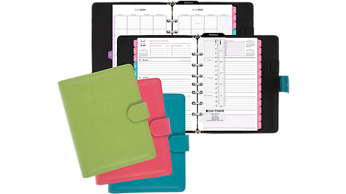 Day-Timer® 2016 - 2017 Mom Complete Planner Set Desk Size (18224_17)  (18224_17)