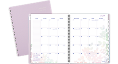 2016 - 2017 Aura Blooms Academic Monthly Planner (185-900A_17) (Item # 185-900A_17)