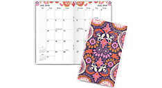 2016 - 2018 Sugar Plum Academic 2 Year Monthly Pocket Planner (186-021A_17) (Item # 186-021A_17)