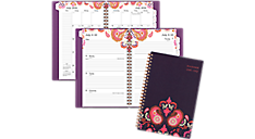 2016 - 2017 Sugar Plum Academic Weekly-Monthly Planner (186-200A_17) (Item # 186-200A_17)