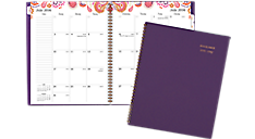 2016 - 2017 Sugar Plum Academic Monthly Planner (186-900A_17) (Item # 186-900A_17)