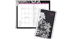 2017 - 2018 FloraDoodle 2-Year Monthly Pocket Planner (189-021_17) (Item # 189-021_17)