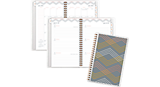 2016 - 2017 Shimmer Customizable Academic Weekly-Monthly Planner (197-201A_17) (Item # 197-201A_17)