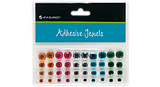 Adhesive Jewels - Rhinestone Gems (214-01) (Item # 214-01)