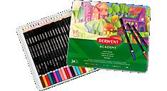 Academy Deluxe 24 Colour Pencils Tin (2301938) (Item # 2301938)