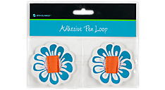 Adhseive Pen Loop - Flower (238-02) (Item # 238-02)