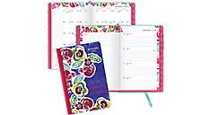 2017 Kathy Davis Bookbound Weekly-Monthly Planner (435-200_17) (Item # 435-200_17)