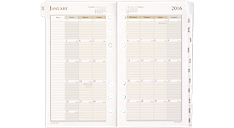 2016 Monthly Planner Refill - Size 3 (471-685Y_16) (Item # 471-685Y_16)