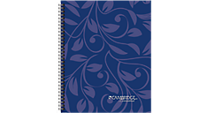 Cambridge Floral Stenzo Business Notebook (47397) (Item # 47397)