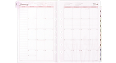 2016 Nature 3-in-1 Weekly Planner Refill (481-385_16) (Item # 481-385_16)