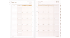 2016 Vertical Weekly Planner Refill (481-485_16) (Item # 481-485_16)