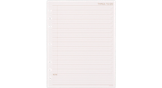 Things To Do Planner Refill (490-232) (Item # 490-232)