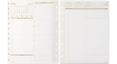 2016 Two-Pages-Per-Day Planner Refill - Size 5 (491-225_16) (Item # 491-225_16)