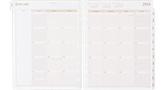 2016 Vertical Weekly Planner Refill (491-485_16) (Item # 491-485_16)