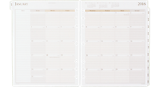 2016 Monthly Planner Refill (491-685_16) (Item # 491-685_16)