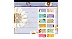 2017 Paper Flowers Desk Pad (5035_17) (Item # 5035_17)