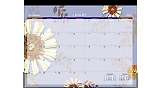 Paper Flowers Academic Desk Pad (5035) (Item # 5035)