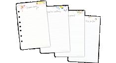 Kathy Davis Notepad Refill, Desk Size (52400C) (Item # 52400C)