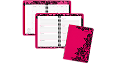 2017 Madonna Lace Premium Weekly-Monthly Appointment Book (530-200_17) (Item # 530-200_17)