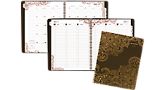 2017 Henna Premium Weekly-Monthly Appointment Book (551-905_17) (Item # 551-905_17)