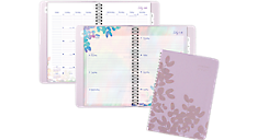 2016 - 2017 Aura Blooms Academic Weekly/Monthly Planner (585-200A_17) (Item # 585-200A_17)