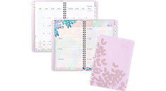 Aura Blooms Academic Weekly/Monthly Planner (585-200A) (Item # 585-200A)