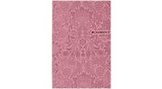 Cambridge Trucco Casebound Pink Notebook, 48 Sheets, SM (59032) (Item # 59032)