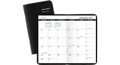 2017 - 2018 2 Year Monthly Pocket Planner (70024_17) (Item # 70024_17)