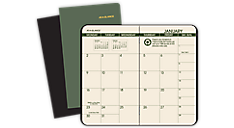 2016-2017 Recycled  2 Year Monthly Pocket Planner (70024G_16) (Item # 70024G_16)