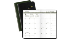 2017 - 2018 Recycled  2 Year Monthly Pocket Planner (70024G_17) (Item # 70024G_17)