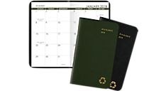 Recycled  2 Year Monthly Pocket Planner (70024G) (Item # 70024G)